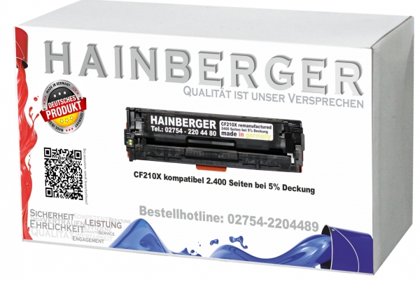 Druckertoner Alternative für HP CF 210X Black